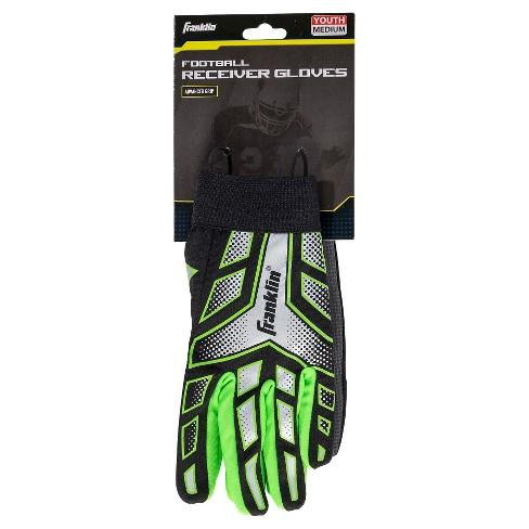 Franklin Youth Large Gl Receiver Gloves Target