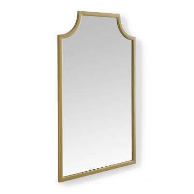 Aimee Wall Mirror Gold - Crosley