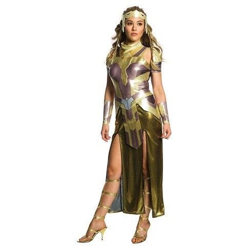 Adult Wonder Woman Hippolyta Deluxe Halloween Costume L - image 1 of 1