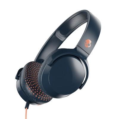 Skullcandy Riff Wired Over-Ear Headphones - Blue