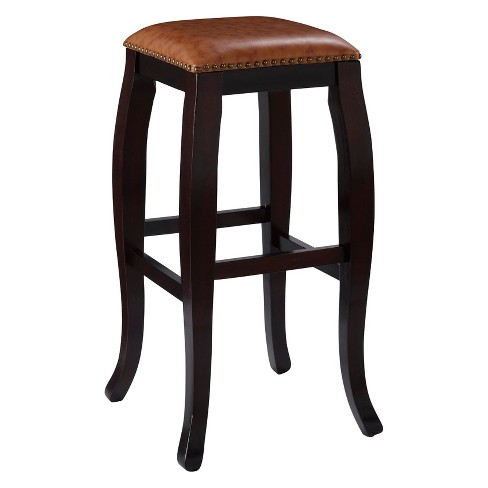 "San Francisco Square 30"" Barstool Wood - Linon Home Décor - image 1 of 3"