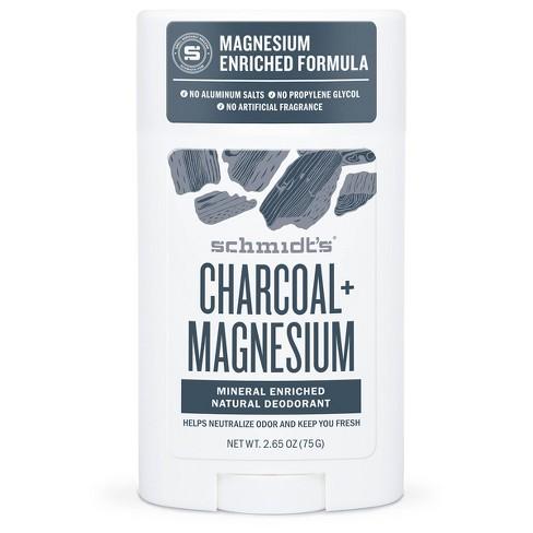 Schmidt's Charcoal + Magnesium Aluminum-Free Natural Deodorant Stick - 2.65oz - image 1 of 4