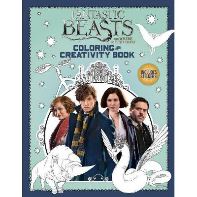 Coloring and Creativity Book : Fantastic Beasts and Where to Find Them (Paperback) (Liz Marsham)
