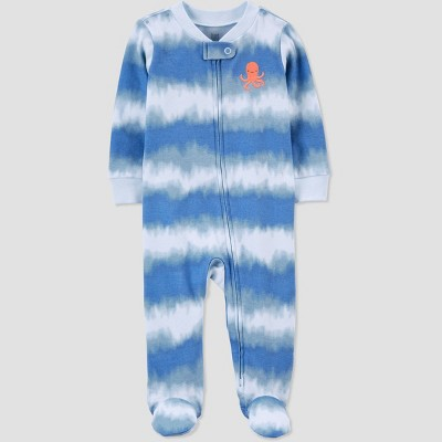 Baby Boys' Octopus Tie-Dye Sleep N' Play - Just One You® made by carter's Blue