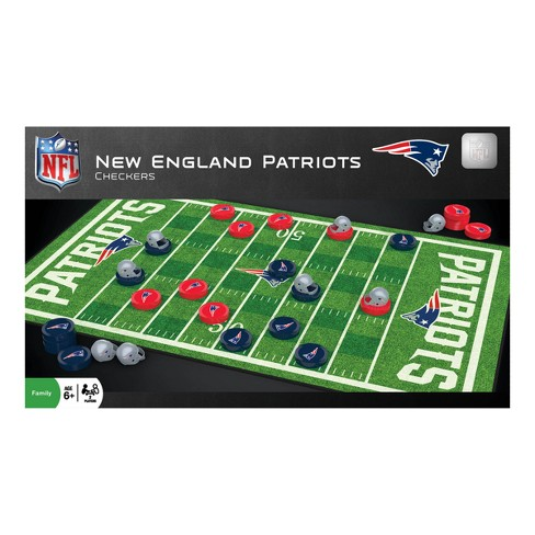 Green Bay Packers Checkers Game Master Pieces