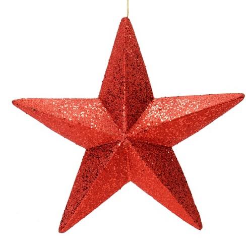 Vickerman Glitter Star Ornament Target