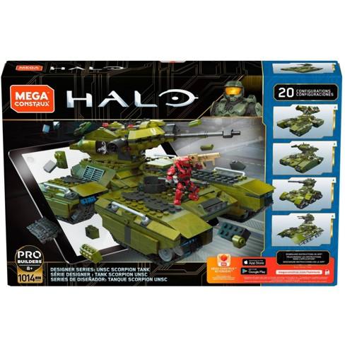 Mega Construx HALO Designer Series: Unsc Scorpion Tank - image 1 of 4