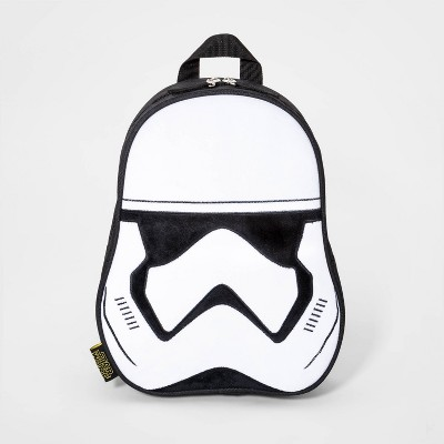 Boys' Star Wars Stormtrooper Mini Backpack - Black/White