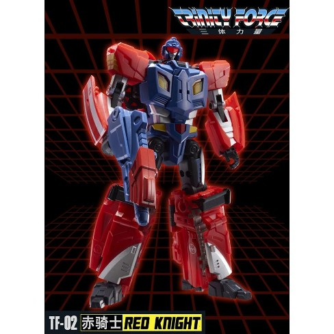TFC Toys - Trinity Force - TF-02 Red Knight Action Figures - image 1 of 4