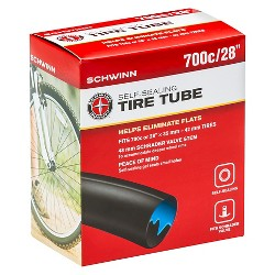 "Schwinn 28"" Self-Sealing Bike Tire Tube"