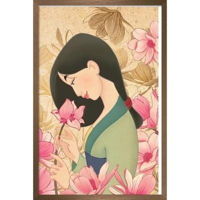 Trends International Disney Mulan - Flower Unframed Wall Poster Print