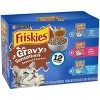 Purina Friskies Gravy Sensations Wet Cat Food Seafood Pouches with Tuna, Salmon & Whitefish - 3oz/12ct Variety Pack - image 4 of 4