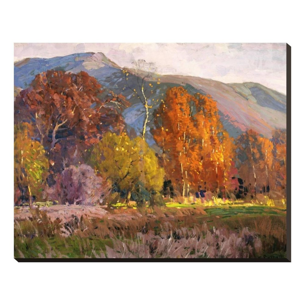 Autumn By Hanson Puthuff Stretched Canvas Print 31x25 - Art.com, Multicolored