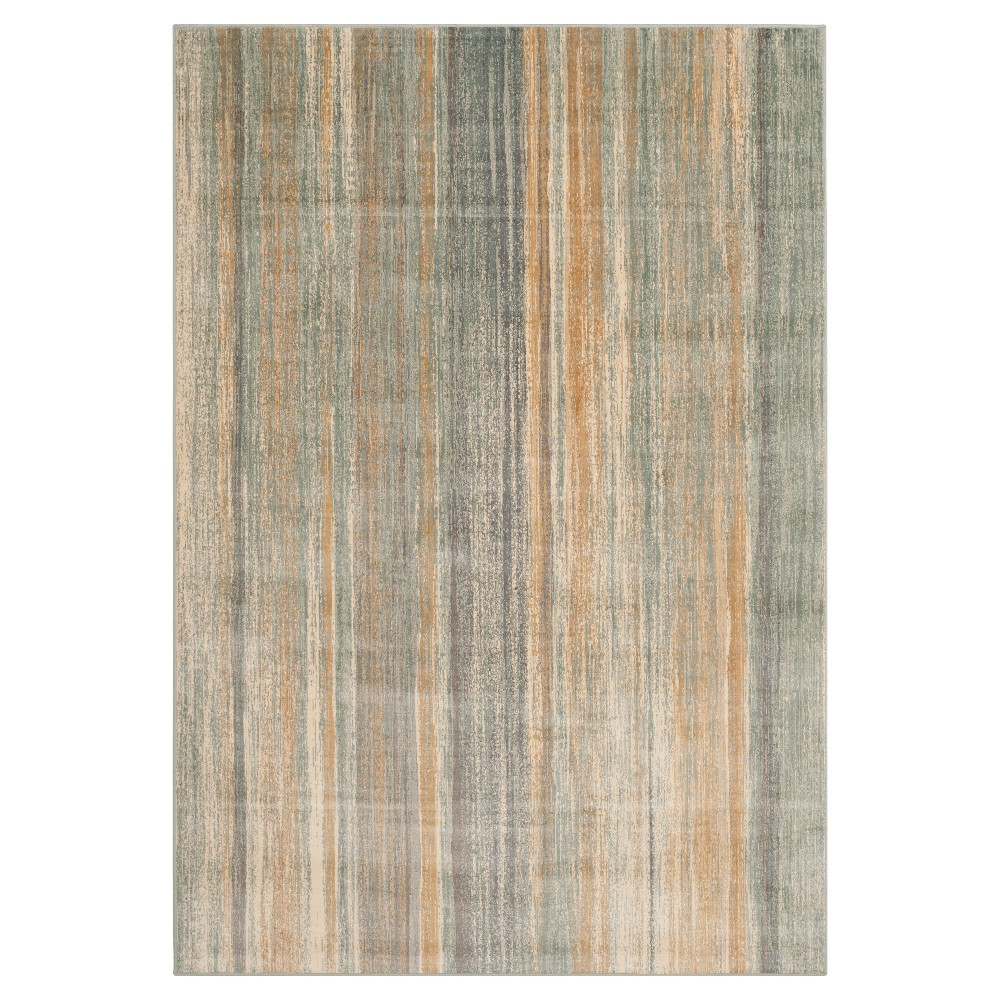 Remi Vintage Area Rug - Light Blue (5'3