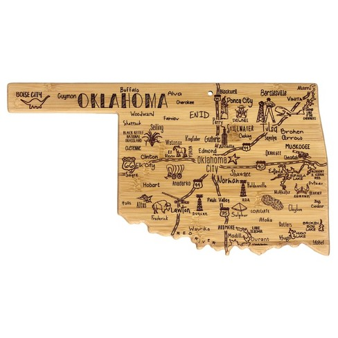 Totally Bamboo Destination Oklahoma Serving and Cutting Board - image 1 of 4