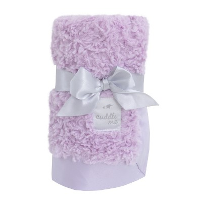 NoJo Cuddle Me Luxury Plush Blanket - Lavender