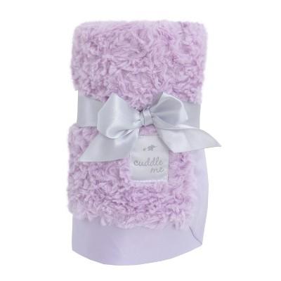 NoJo Cuddle Me Luxury Plush Blanket - Lavender