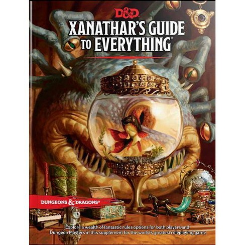 Xanathar's Guide to Everything - (Dungeons & Dragons) by  Wizards RPG Team (Hardcover) - image 1 of 1