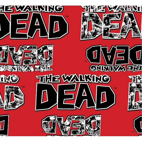 The Walking Dead Zombies Fabric - image 1 of 1