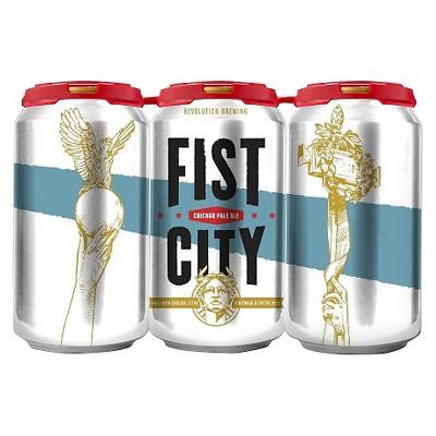 Revolution Fist City Chicago Pale Ale Beer - 6pk/12 fl oz Cans