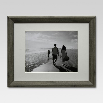 8  x 10  Single Picture Frame Gray - Threshold™
