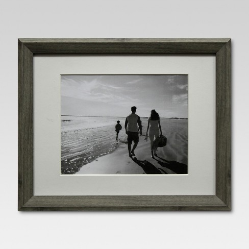 "8"" x 10"" Single Picture Frame Gray - Threshold™ - image 1 of 4"