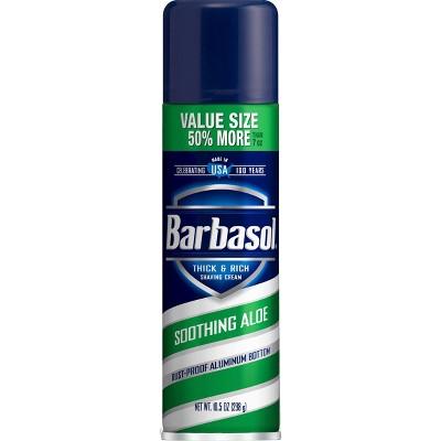 Barbasol Shaving Cream Aloe - 10.5oz