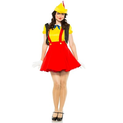 Seeing Red Wooden Puppet Adult Costume