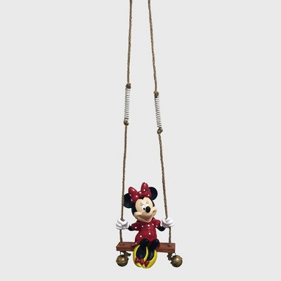 "Disney Mickey Mouse 24"" Minnie Mouse Resin Swing-n-Ring Statue"