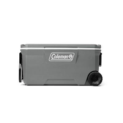 Coleman 316 100qt Wheeled Cooler - Rock Gray