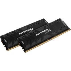 Kingston Predator Memory Black - 32GB Kit (2x16GB) - DDR4 3000MHz Intel XMP CL15 DIMM - 32 GB (2 x 16 GB) - DDR4-3000/PC4-24000 DDR4 SDRAM - CL15