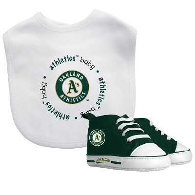 Oakland Athletics Bib & Prewalker Gift Set