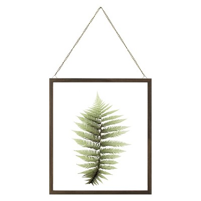 14 x16  Leaf Framed Wall Poster Print Green - Threshold™