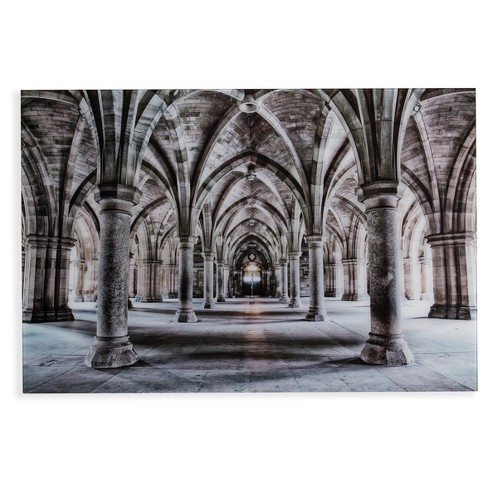 Gothic Arches Glass Wall Art - Aiden Lane - image 1 of 6