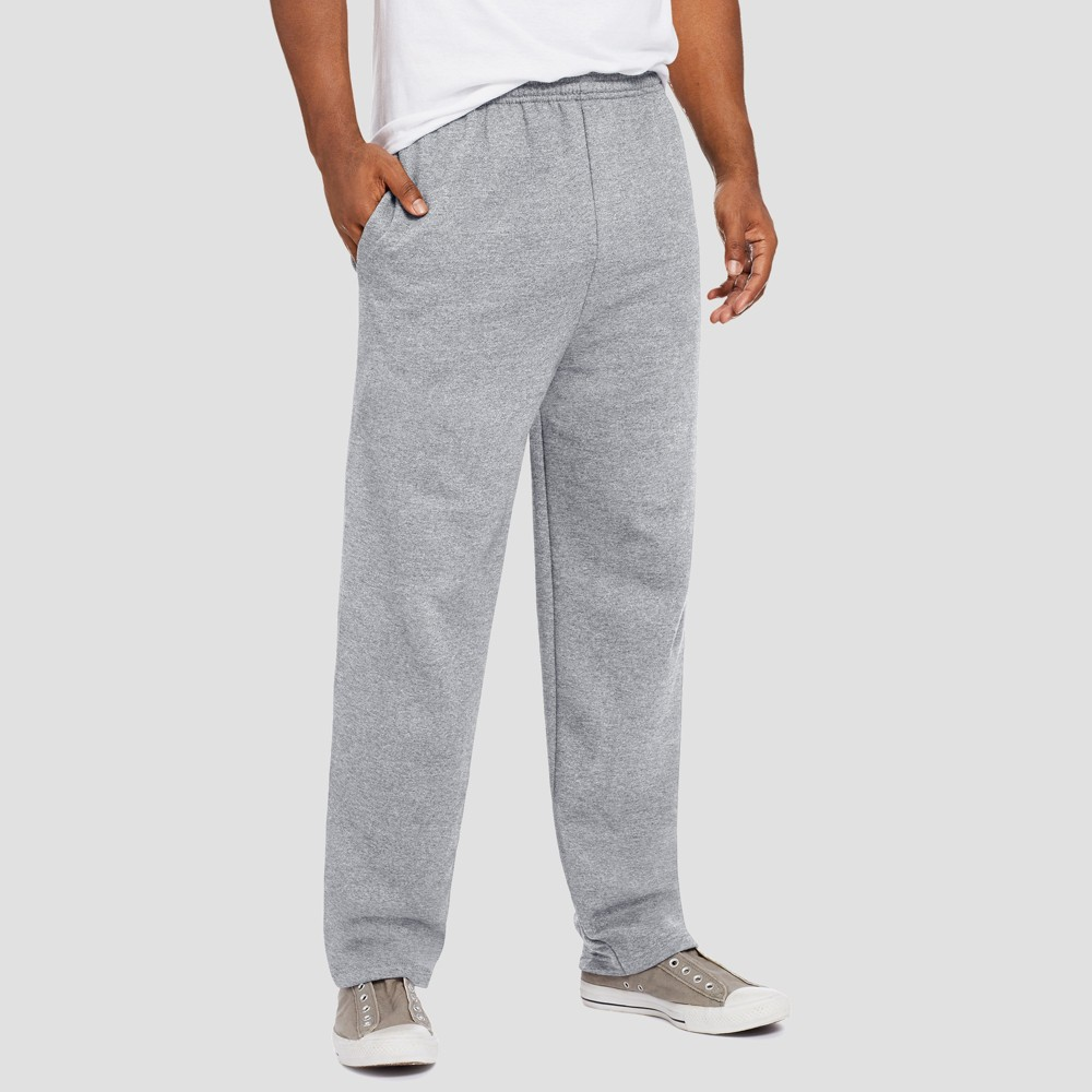 Hanes Men's EcoSmart Fleece Sweatpants - Light Steel S