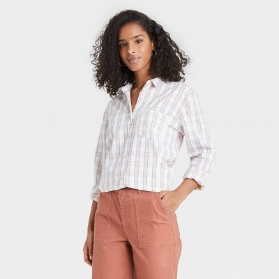 Women's Long Sleeve Button-Down Shirt - Universal Thread™