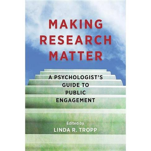 Making Research Matter - (Paperback) - image 1 of 1