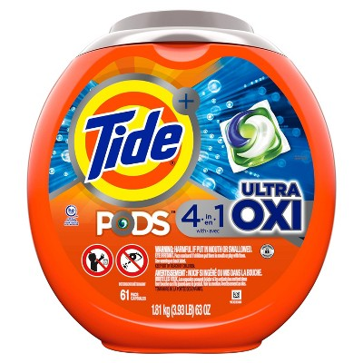 Tide Pods Laundry Detergent Pacs Ultra Oxi