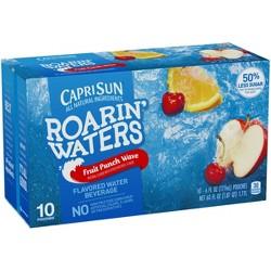 Capri Sun Roaring Waters Fruit Punch Pack - 10pk/6 fl oz Pouches