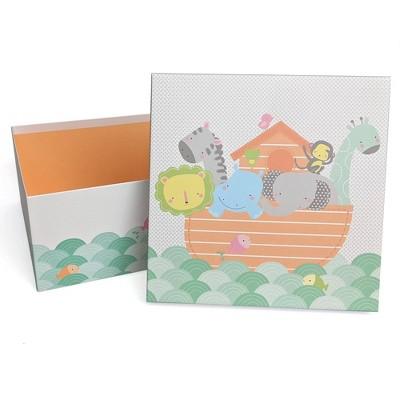 Animals in Ark Baby Shower Gift Box - Spritz™