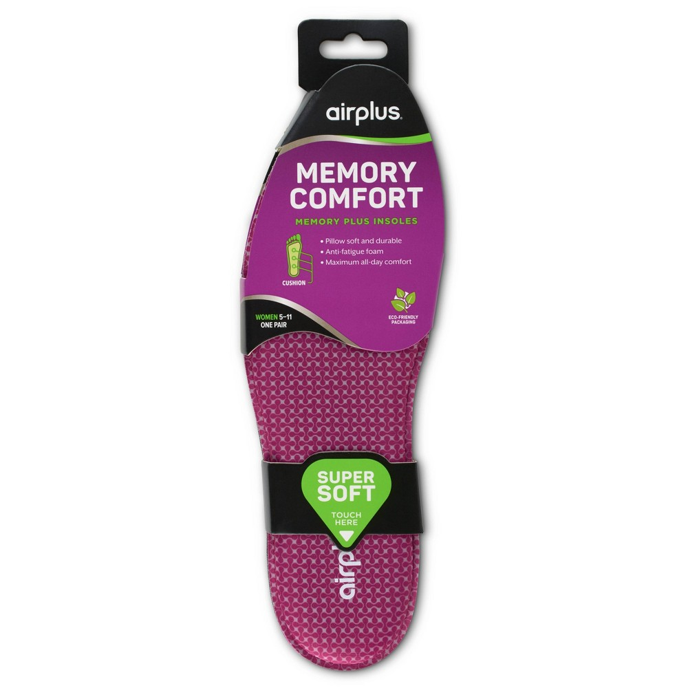 Airplus Memory Plus Insole Women S