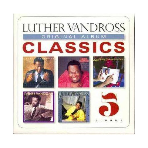 Luther Vandross Christmas Album.Luther Vandross Original Album Classics Luther Vandross Cd