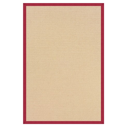 "Athena Wool Area Rug - Red (9'10"" X 13') - image 1 of 1"