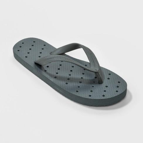 57d1ad623d448 88 Main Shower Flip Flop Sandals Gray   Target