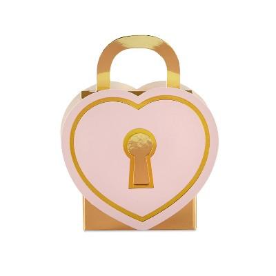 24ct Love Lock Favor Box