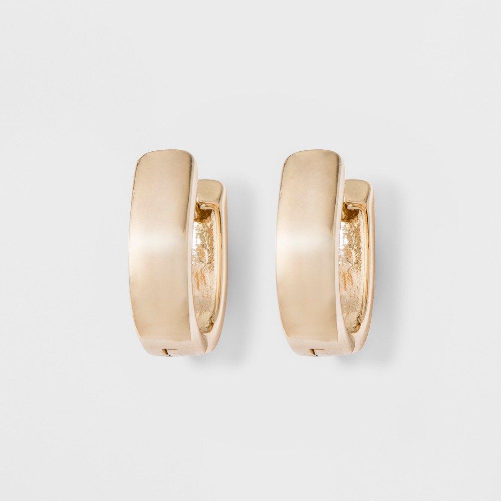 Huggie Earrings A New Day 8482 Gold