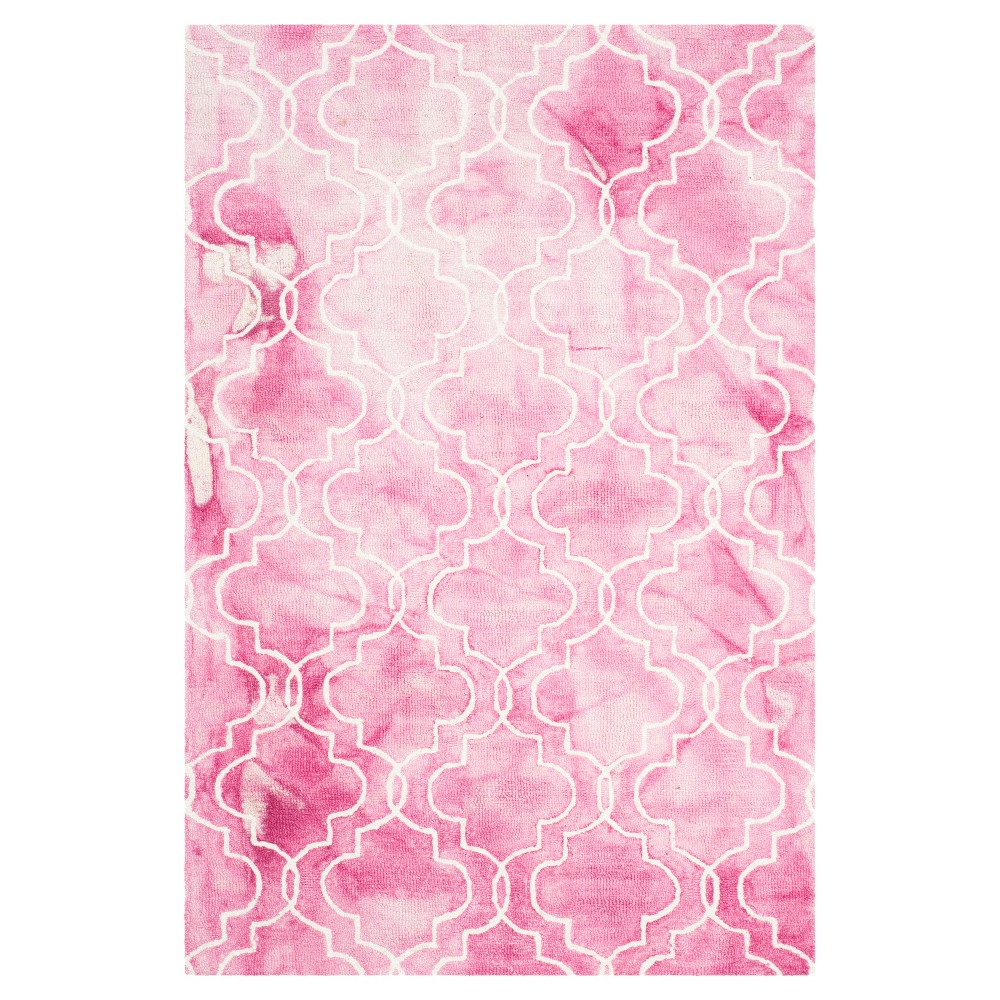 Denzil Area Rug - Rose/Ivory (Pink/Ivory) (4'x6') - Safavieh