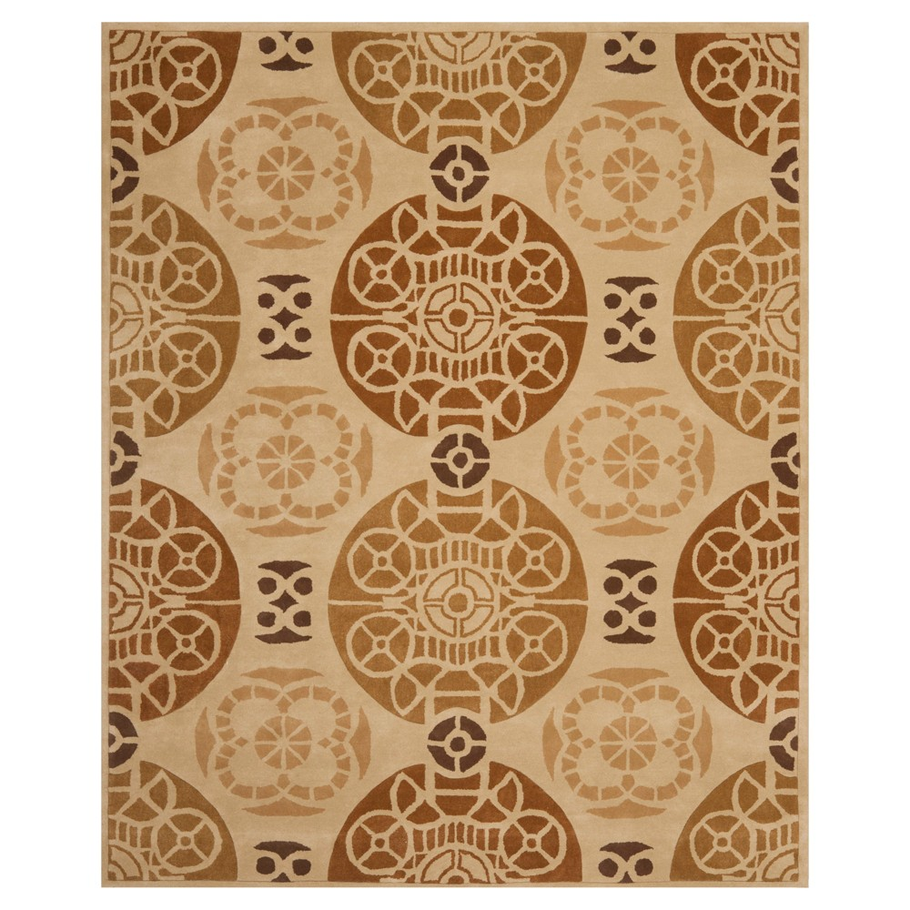 8'X10' Medallion Area Rug Gold/Brown - Safavieh