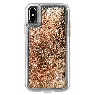 Case-Mate Apple iPhone X/XS Waterfall Case - Gold
