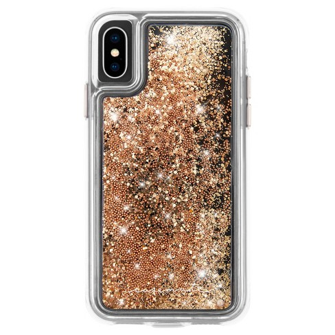 Case-Mate Apple iPhone X/XS Waterfall Case - Gold - image 1 of 4